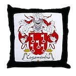 Cogominho Family Crest  Throw Pillow