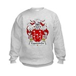 Cogominho Family Crest  Kids Sweatshirt