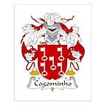 Cogominho Family Crest  Small Poster