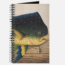 Mahi-Mahi Fish artwork Journal