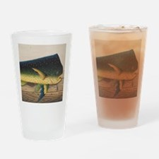 Mahi-Mahi Fish artwork Drinking Glass