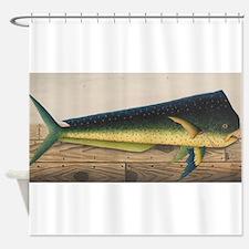 Mahi-Mahi Fish artwork Shower Curtain