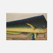 Mahi-Mahi Fish artwork Magnets