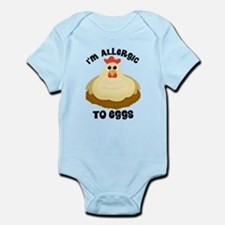 Allergic To Eggs Body Suit