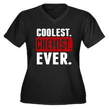 Coolest. Chemist. Ever. Plus Size T-Shirt