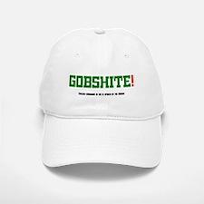 GOBSHITE - ENGlISH GRAMMAR AS SHE IS SPOKEN BY Baseball Baseball Cap