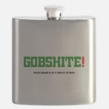 GOBSHITE - ENGlISH GRAMMAR AS SHE IS SPOKEN Flask