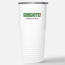 GOBSHITE - ENGlISH GRAM Stainless Steel Travel Mug