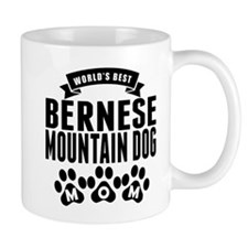 Worlds Best Bernese Mountain Dog Mom Mugs