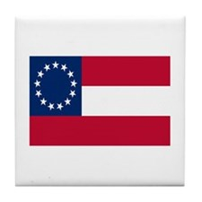 CSA First National Flag Tile Coaster