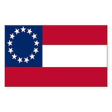 CSA First National Flag Decal