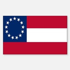 CSA First National Flag Decal
