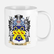 Halley Coat of Arms - Family Crest Mugs
