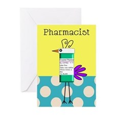 Cute Pharmacy student Greeting Cards (Pk of 10)