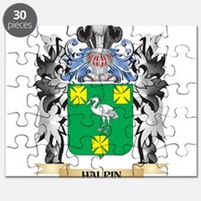 Halpin Coat of Arms - Family Crest Puzzle