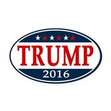 Donald Trump President 2016 Oval Car Magnet