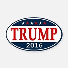 Donald Trump President 2016 Oval Car Magnet