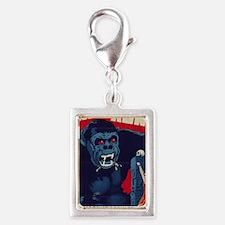 King Kong Silver Portrait Charm