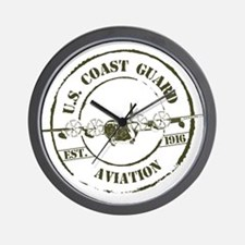 USCG Aviation (C-130) Wall Clock