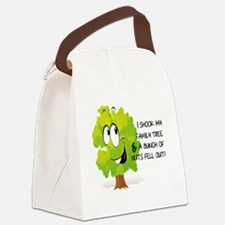I SHOOK MY FAMILY TREE AND A BUNC Canvas Lunch Bag