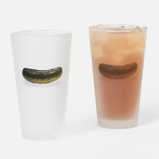 Dill Pickle Drinking Glass