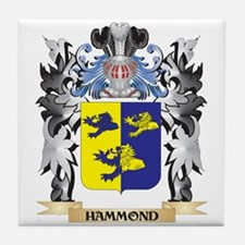 Hammond Coat of Arms - Family Crest Tile Coaster
