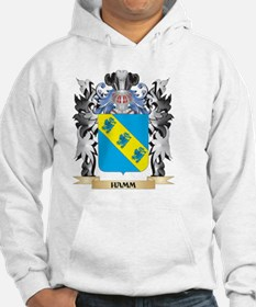 Hamm Coat of Arms - Family Crest Hoodie
