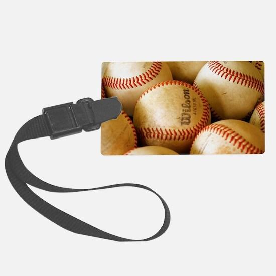 Baseball Balls Luggage Tag