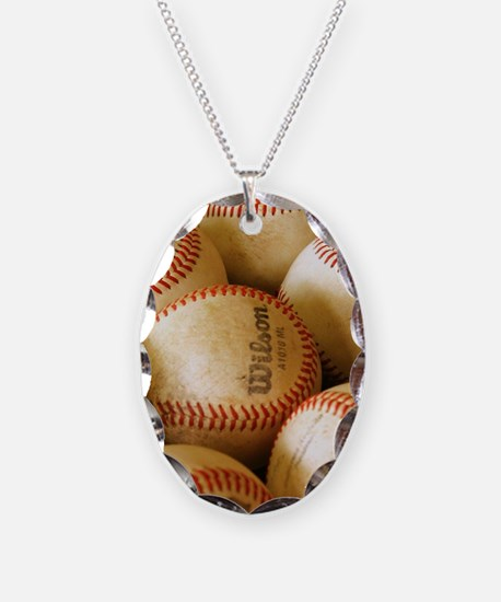 Baseball Balls Necklace