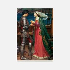 Tristan and Isolde Rectangle Magnet