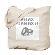 RELAX I CAN FIX IT Tote Bag