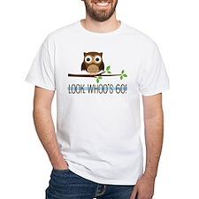 Look Whoo's 60 Owl Birthday T-Shirt