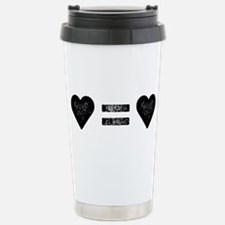 Love Equals Love Travel Mug