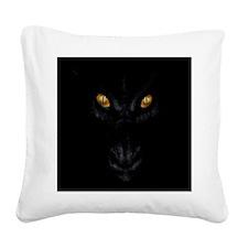 Dragon Lurking In The Dark Square Canvas Pillow
