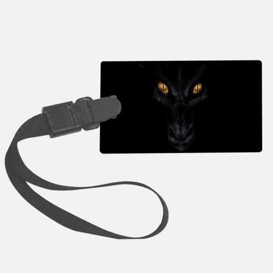 Dragon Lurking In The Dark Luggage Tag