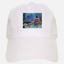 Mermaid And Her Children Baseball Baseball Baseball Cap
