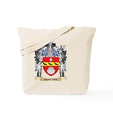 Hampton Coat of Arms - Family Crest Tote Bag