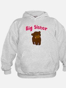 Big Sister Bear Hoodie
