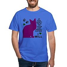 Cool Frisky cat T-Shirt