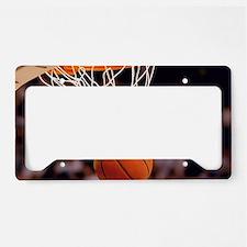 Basketball Scoring License Plate Holder