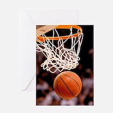Basketball Scoring Greeting Cards