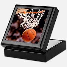Basketball Scoring Keepsake Box