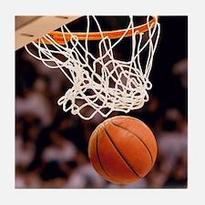Basketball Scoring Tile Coaster