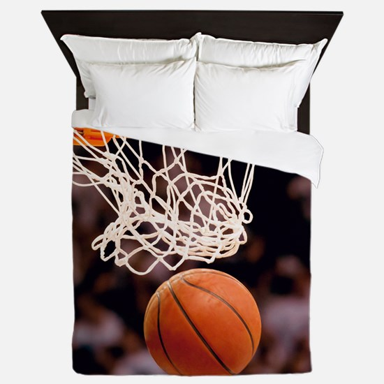 Basketball Scoring Queen Duvet