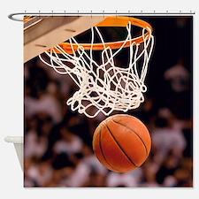Basketball Scoring Shower Curtain