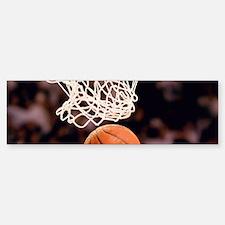 Basketball Scoring Bumper Bumper Bumper Sticker
