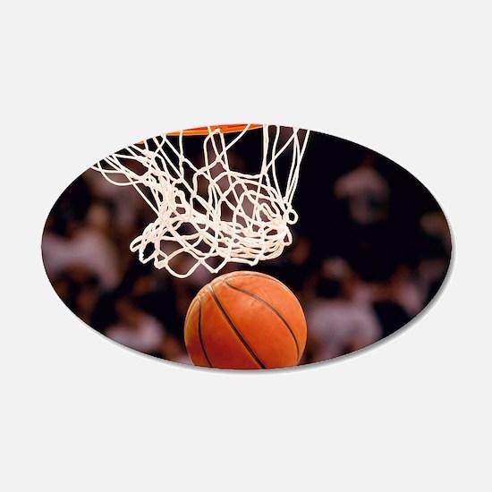 Basketball Scoring Wall Decal