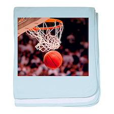 Basketball Scoring baby blanket