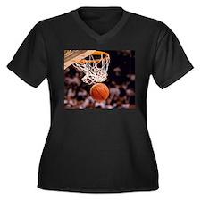 Basketball Scoring Plus Size T-Shirt