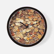 U.S. Coins Wall Clock